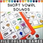 Vowel SOunds File Folder Games