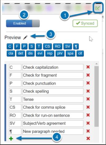 Rapid Feedback In Google Docs With Checkmark Teaching Forward