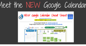 New Google Calendar Teaching Forward Blog Post Header