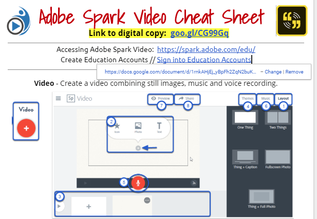 Everyone Can Create with Adobe Spark for Education