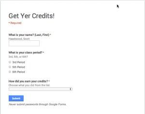 Get Yer Credits