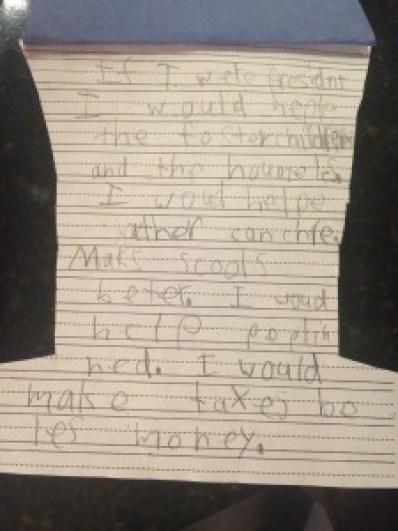 Madigan President Letter