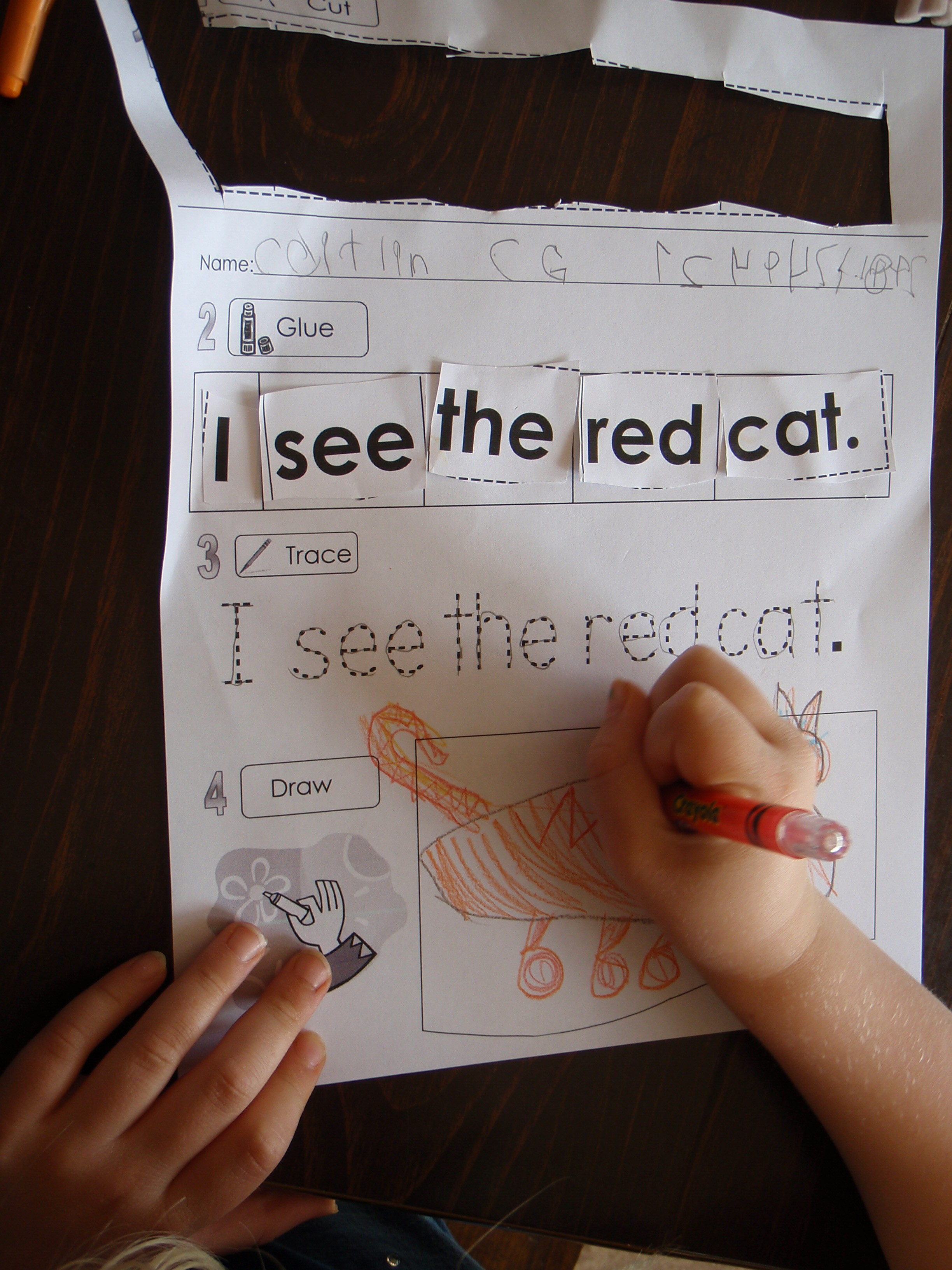Sight Word Free Extra Practice Activities