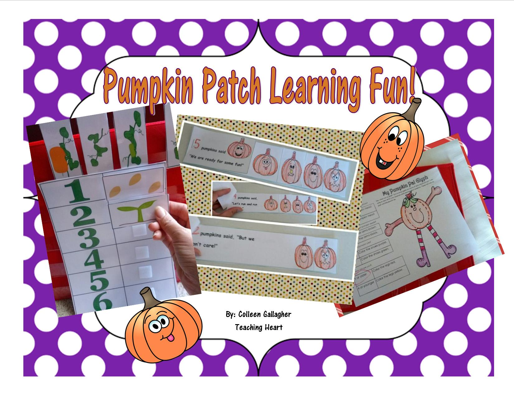 Pumpkin Packet For Preschool And Kindergarten Teaching