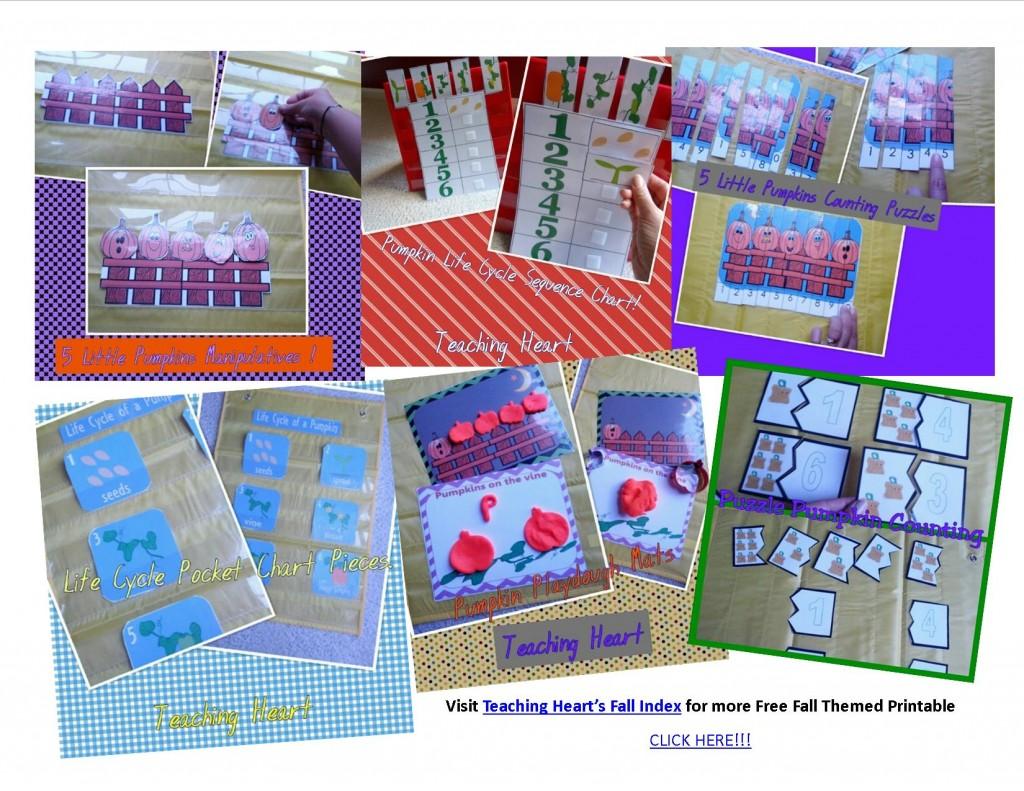 Pumpkin Packet For Preschool And Kindergarten