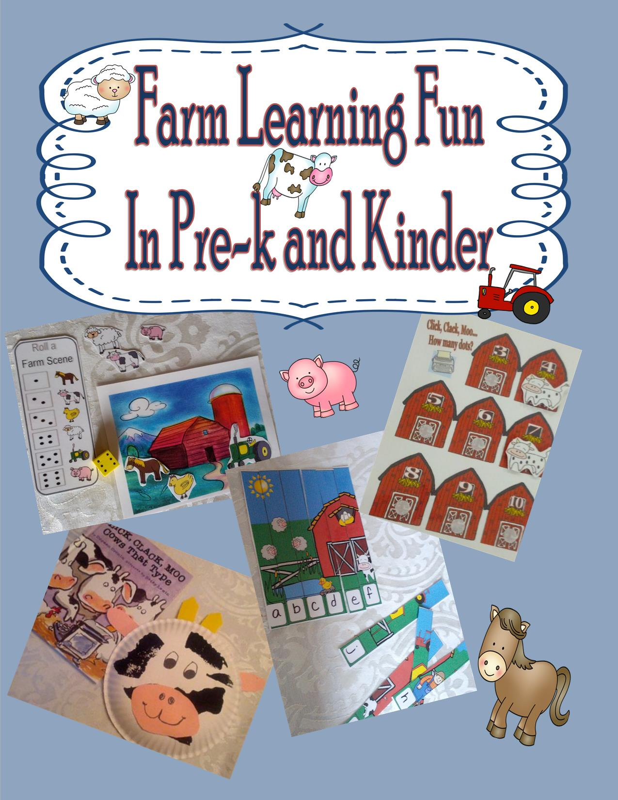 New Farm Packet For Kinder And Pre K