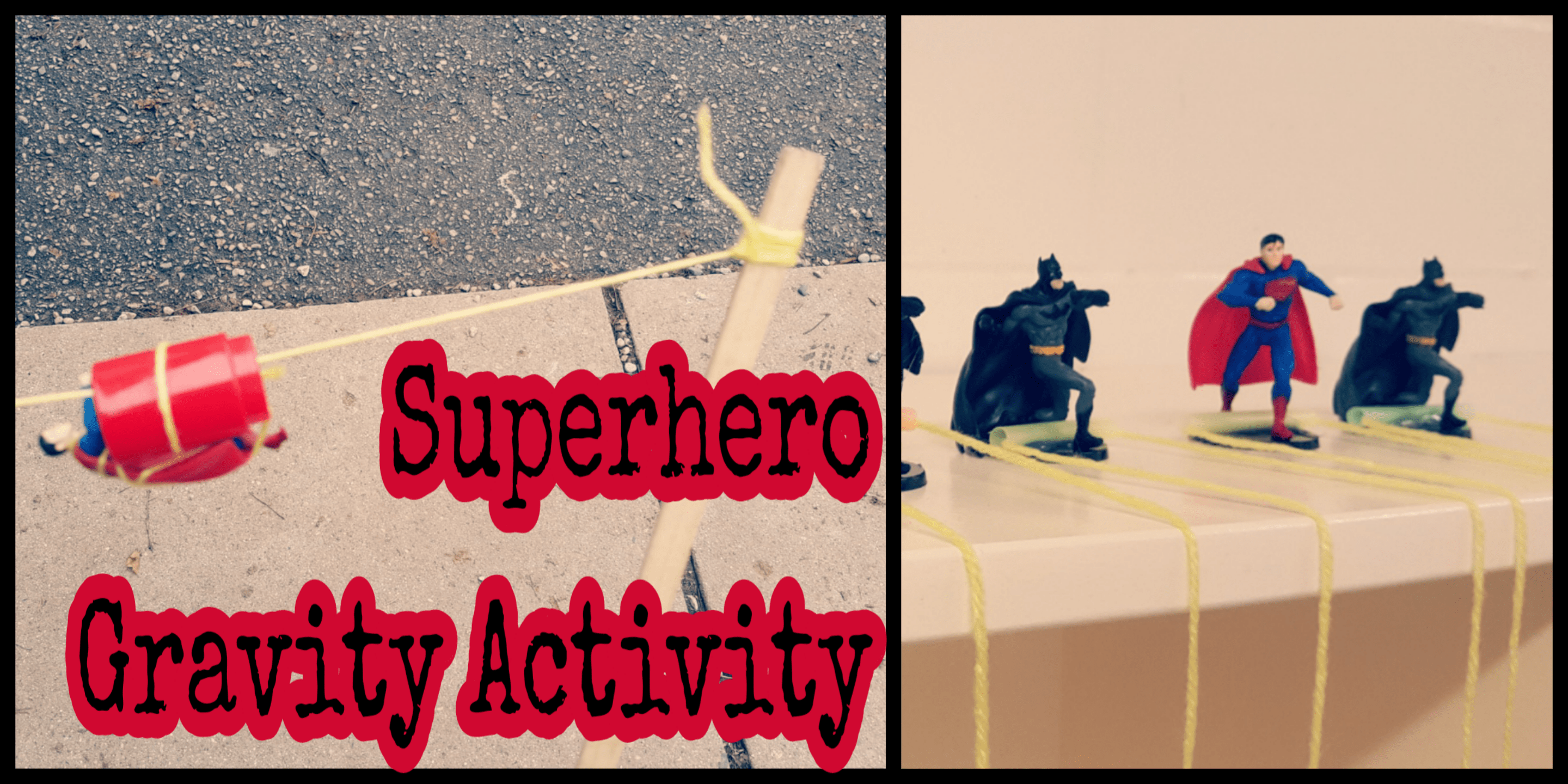 Superhero Gravity For Kids