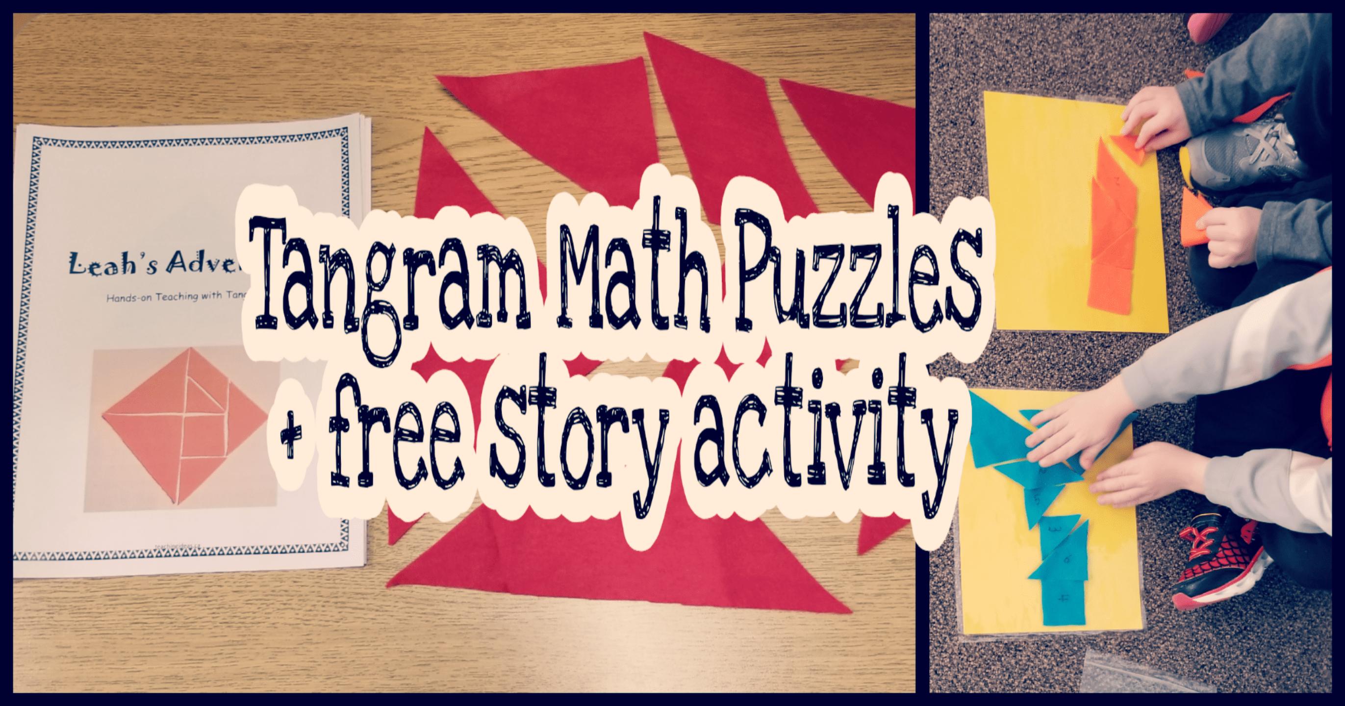 Tangram Math Activity For Kids
