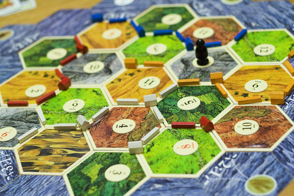 Advanced Level, Burnt out Students? Settlers of Catan Time!