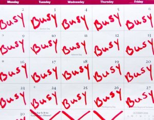 Insanely Busy? How to Deal with It
