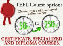 Online TESOL certifications