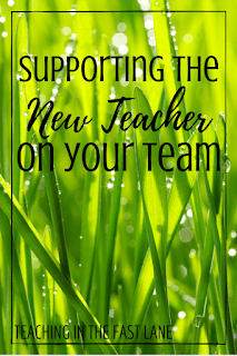 Supporting the New Teacher on Your Team