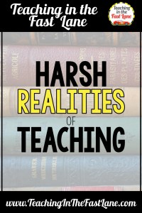 Teaching is an incredibly rewarding career, but there are some harsh realities of teaching that no one tells you about. The harsh realities of teaching can quickly lead to burnout if you are not careful.