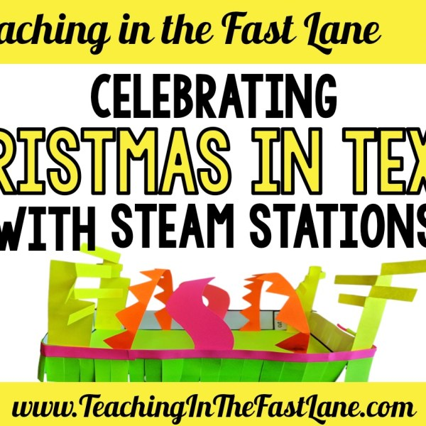 Celebrating Christmas in Texas with STEAM Stations