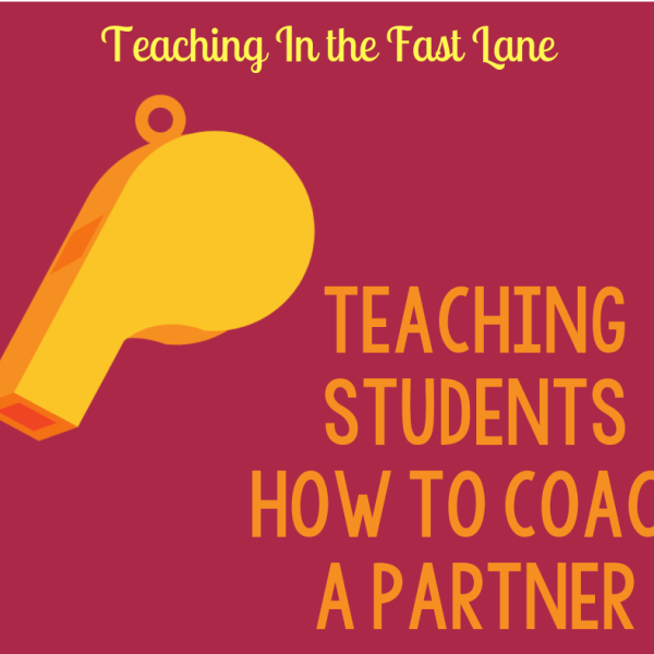 How to Teach Students to Coach a Partner