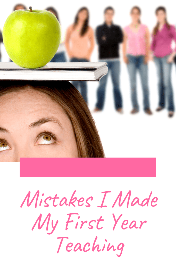 The first year of teaching is hard and I made a lot of mistakes. Check out this blog post to read about the mistakes I made and what you should do instead.