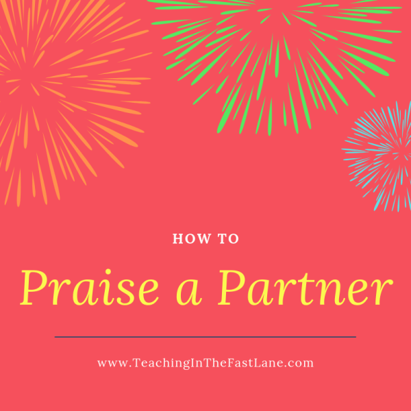 How to Praise a Partner in the Classroom