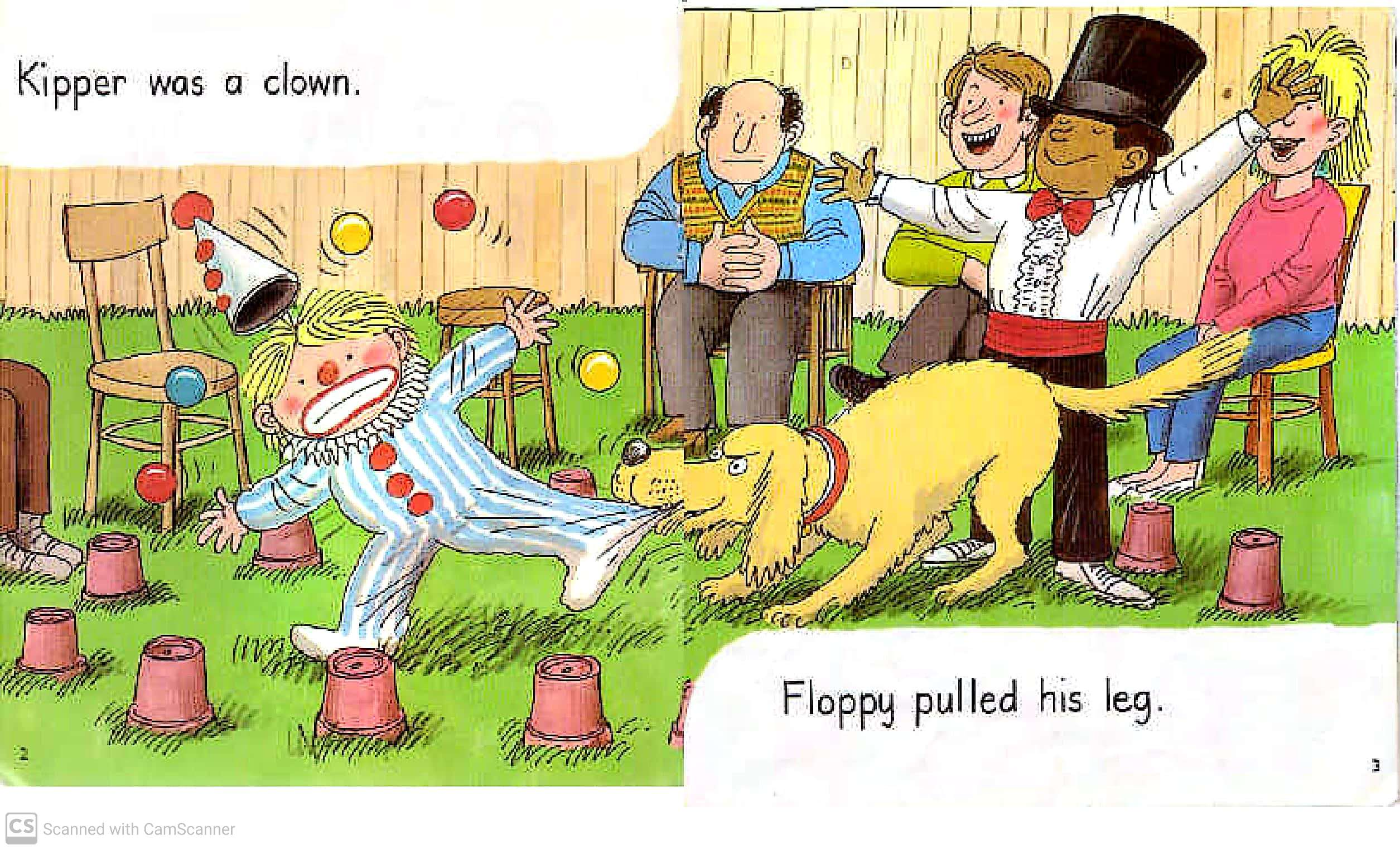 Kipper The Clown Oxford Reading Tree Teaching Kids To