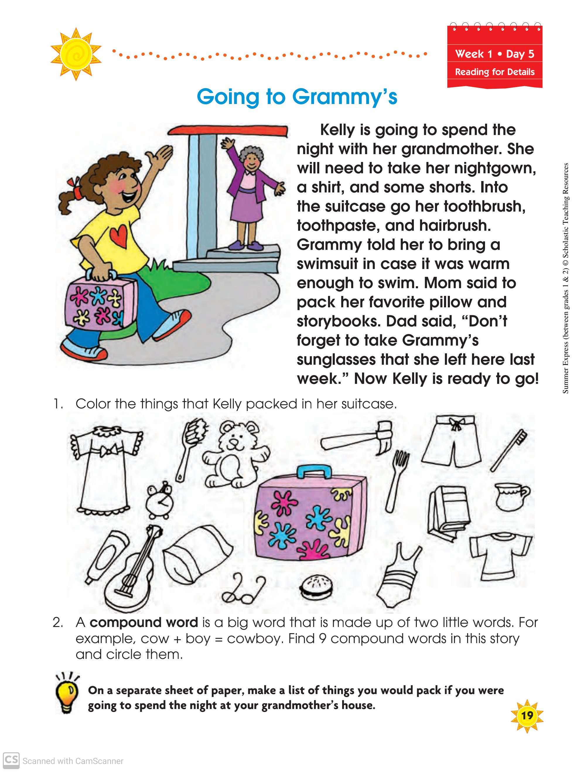 Vocabulary Grammar Writing Reading And Maths Worksheets