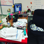 Normal teacher desk