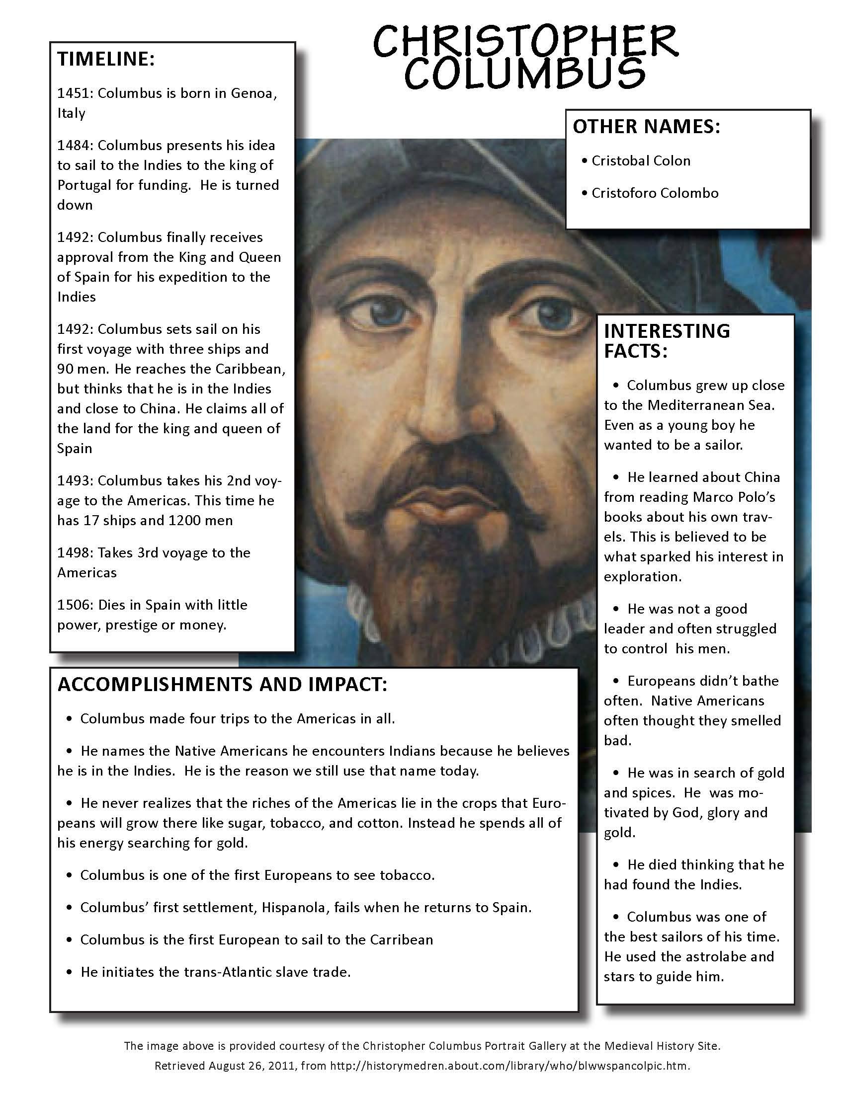 En La Clase Rethinking Columbus Using Pictorial Input