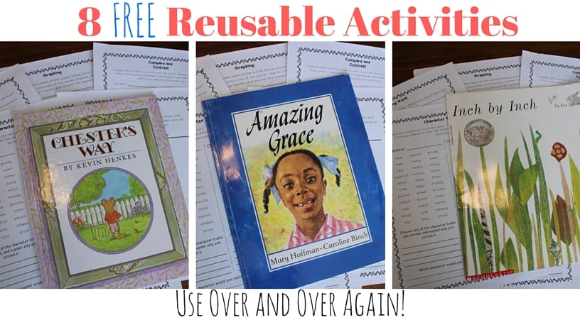 Save time by having reusable activities ready to go at all times! Anytime you need a last minute activity or have an emergency, you'll have something for your kids to do!