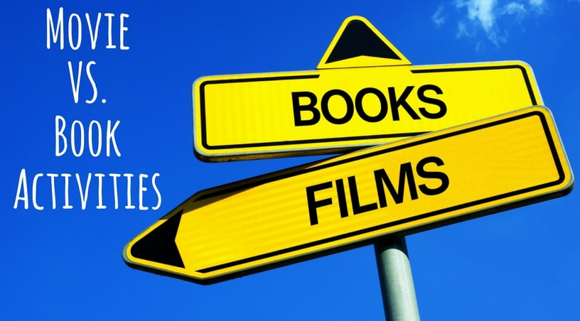 Compare and Contrast a Movie With The Book - ideas for your upper elementary classroom to make this activity more meaningful