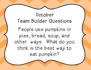 Ice Breaker/ Team Builder Question