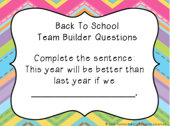 Back to School Ice Breakers for Building a Positive Classroom Community