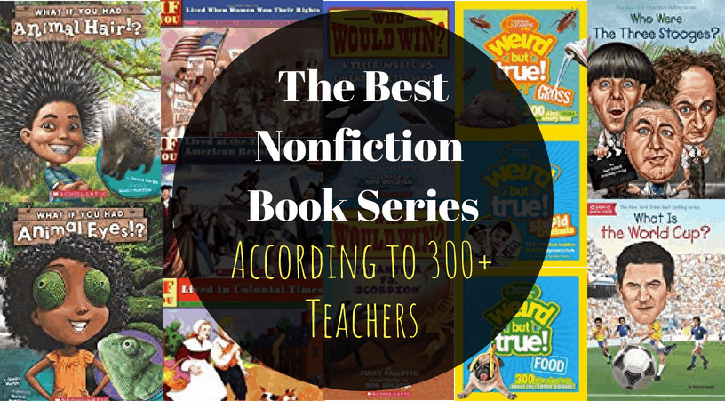 the best nonfiction book series for 3rd grade, 4th grade, and 5th grade students