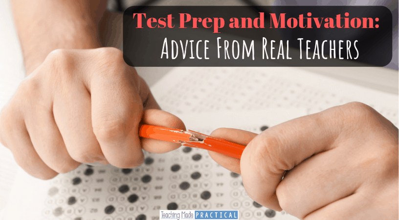 standardized testing test prep and motivation for 3rd, 4th, and 5th grade students