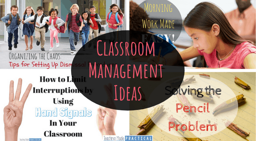 Practical Classroom Management Ideas for Upper Elementary Students (3rd, 4th, 5th grade)