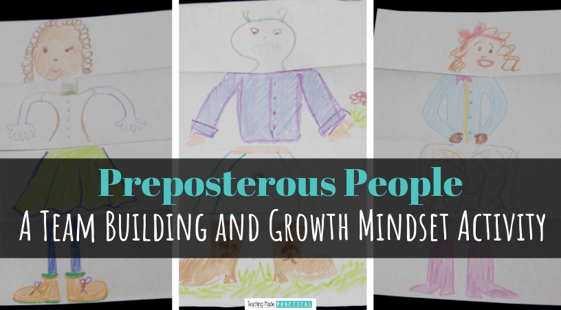 This cooperative drawing activity is great as a back to school ice breaker or team builder for third, fourth, and fifth grade students.