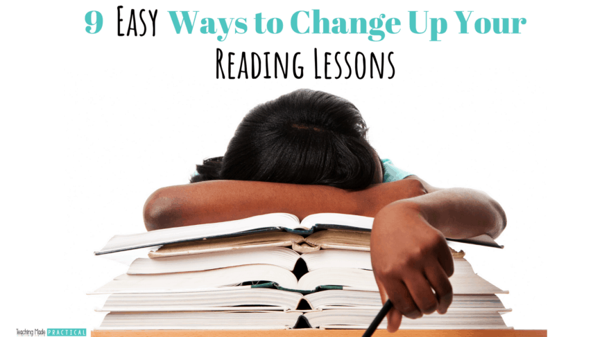 Ideas to change up your upper elementary reading lessons (third, fourth, and fifth grade) - alternatives to round robin reading