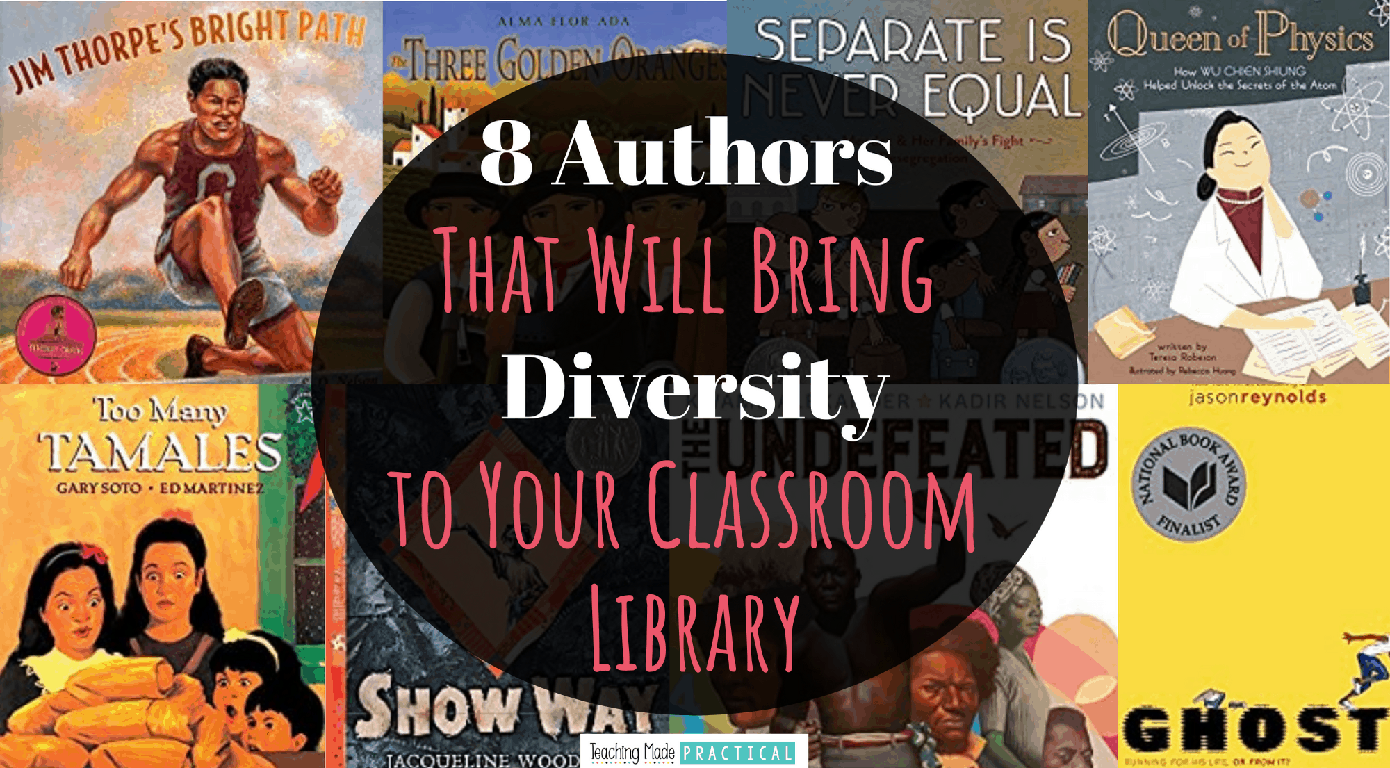 These 8 authors of color should be in every 3rd, 4th, and 5th classroom library