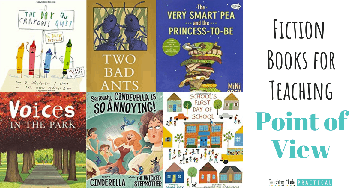 These fiction books for 3rd, 4th, and 5th grade are a great way to help you teach point of view and perspective to your upper elementary students.
