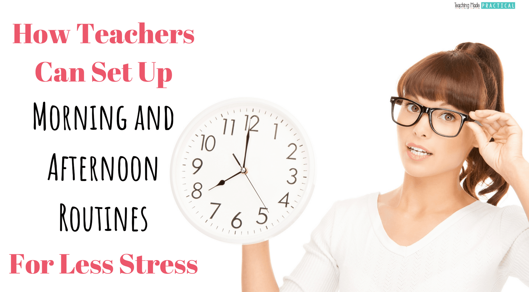 Setting up morning and afternoon routines (for the teacher) in upper elementary classrooms - 3rd, 4th, and 5th grade