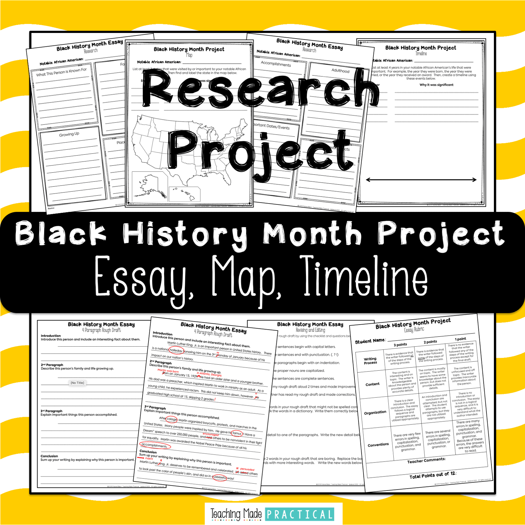 A Black History Month Research Project - Teaching Made Practical