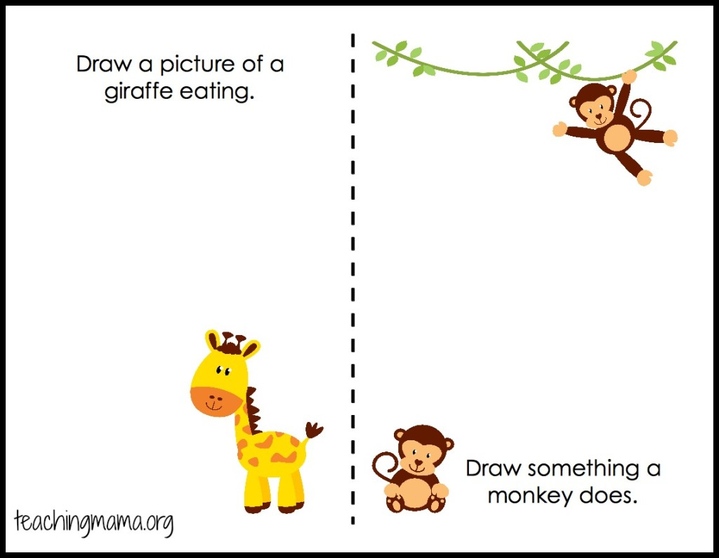 My Trip To The Zoo Free Printable Booklet