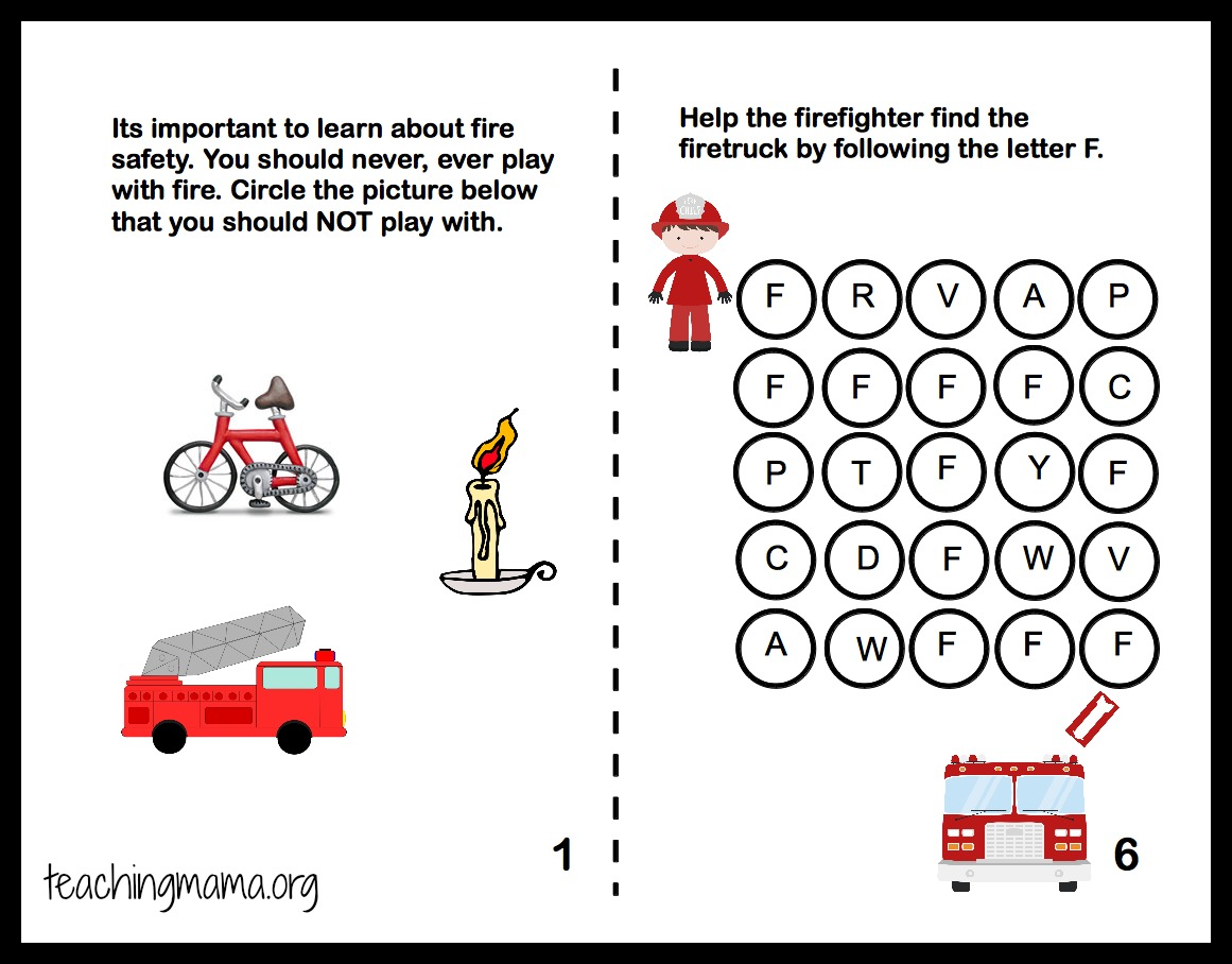 Ly Fire Safety Math Worksheet K Worksheets Kindergarten Free Ly Best Free Printable Worksheets