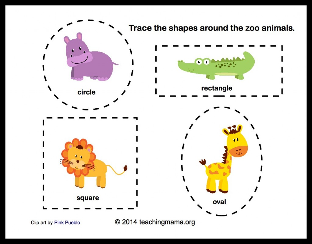 New 446 Free Zoo Worksheets For Preschool
