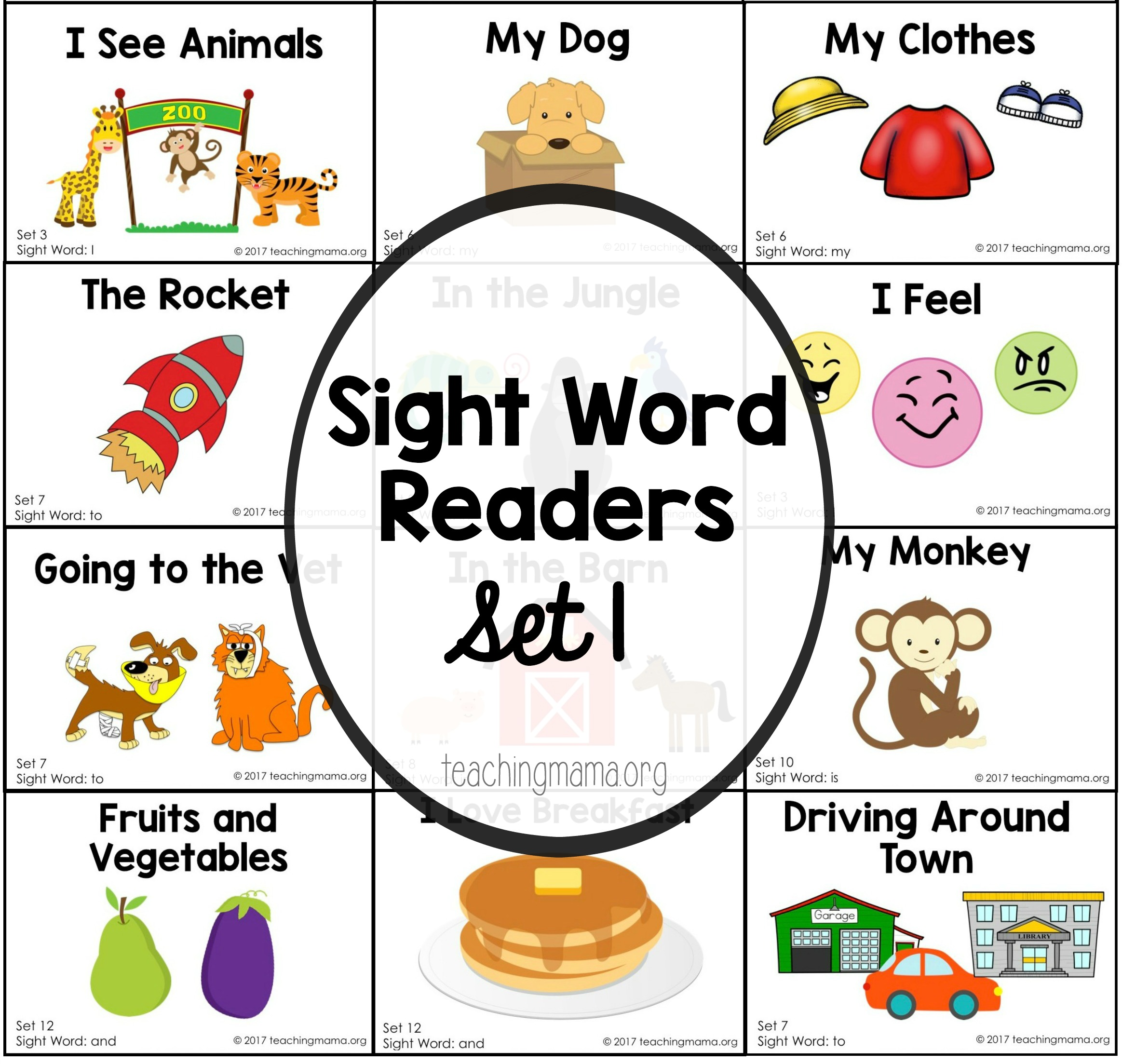Sight Word Reader For The Word The