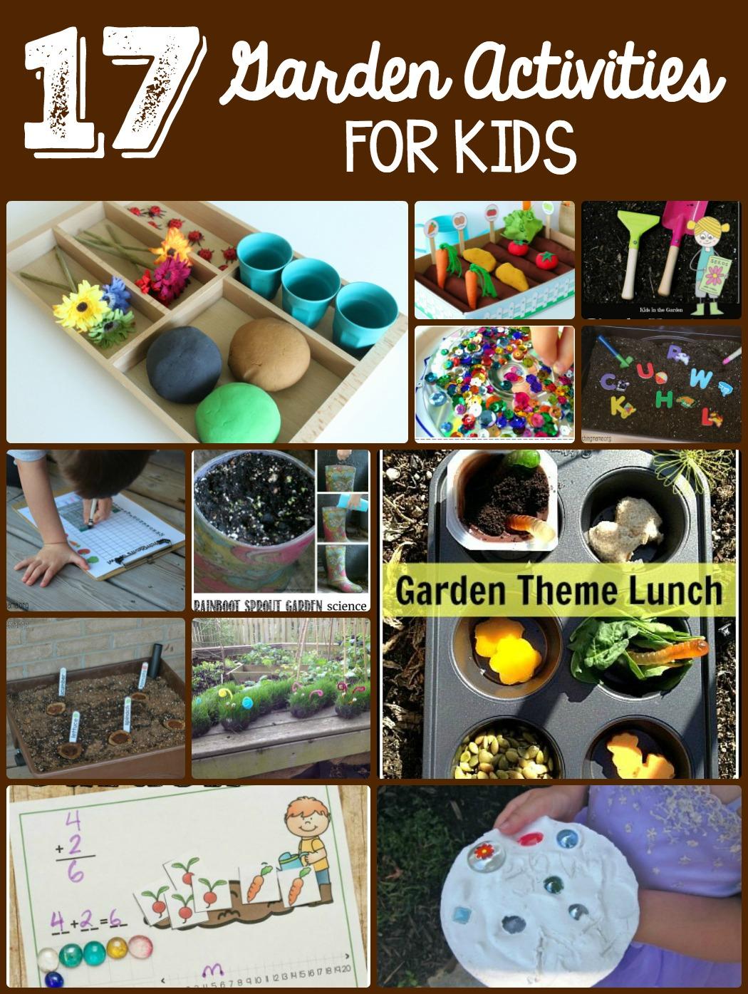 17 Garden Activities For Kids
