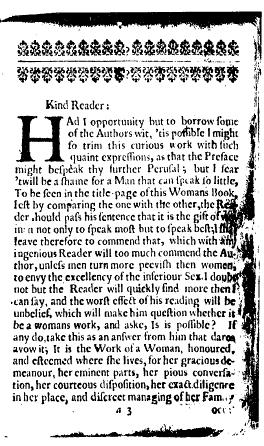 Bradstreet Preface 1