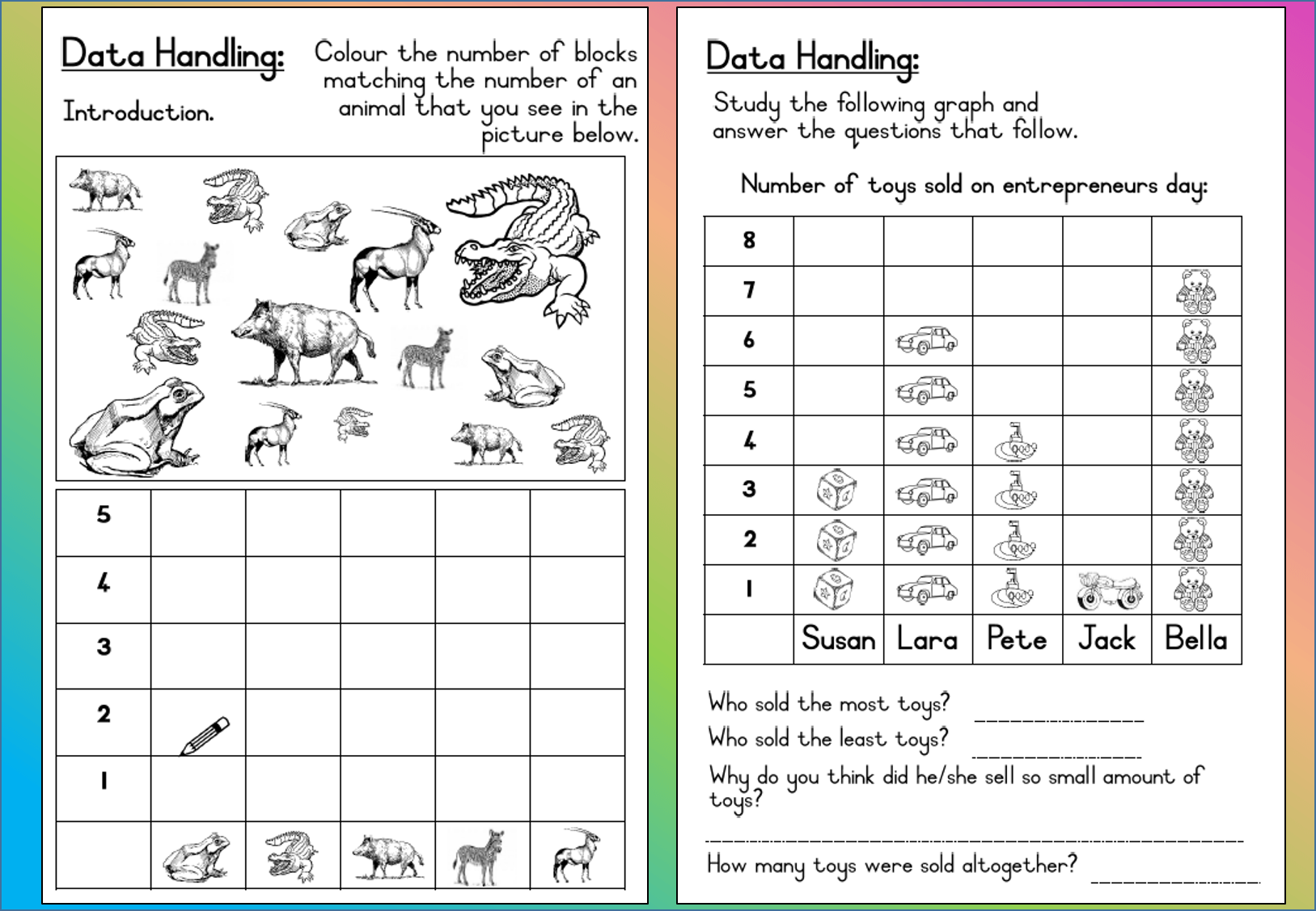 Example Worksheet Data