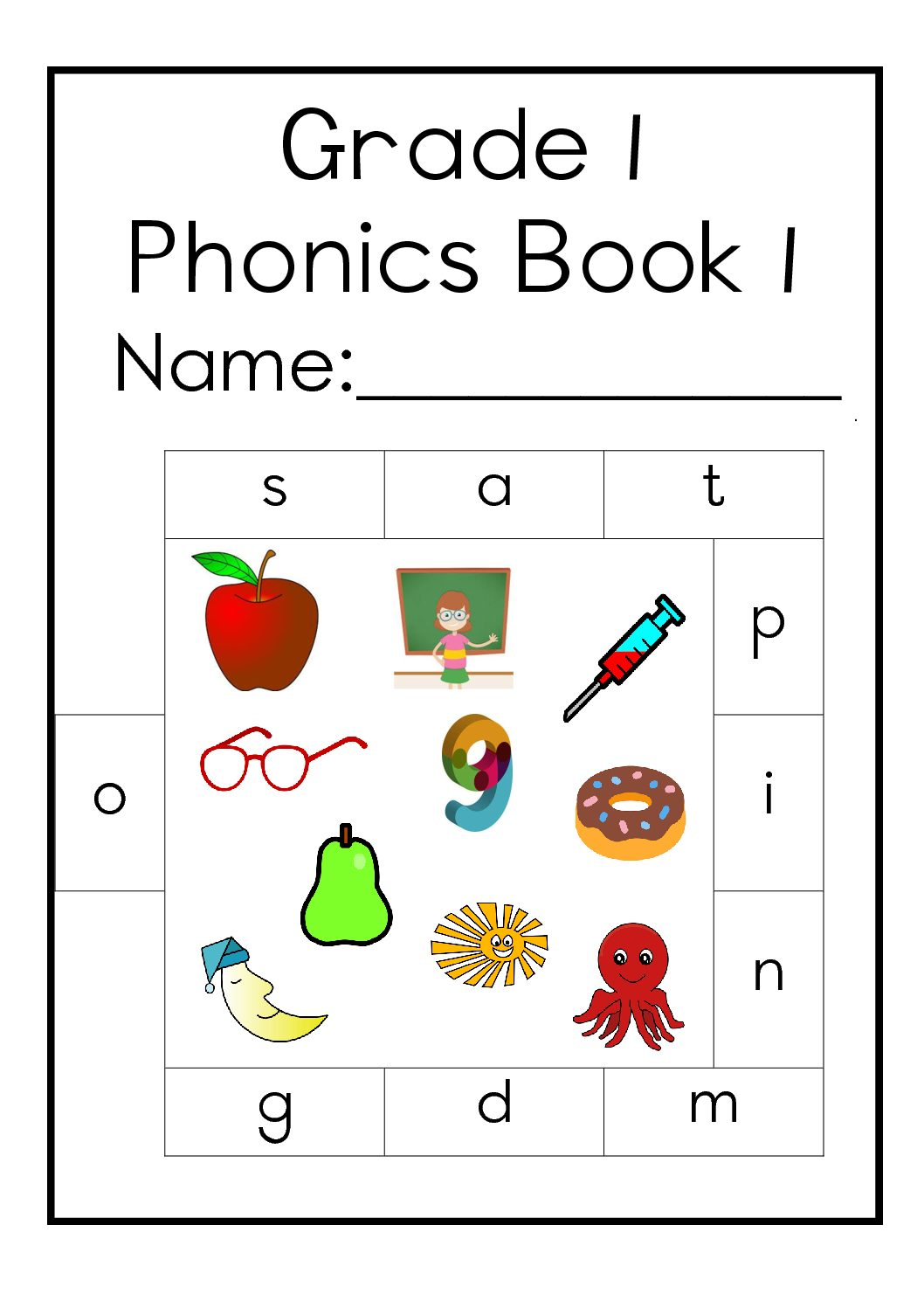 English Worksheet For Grade 1 Pinterest
