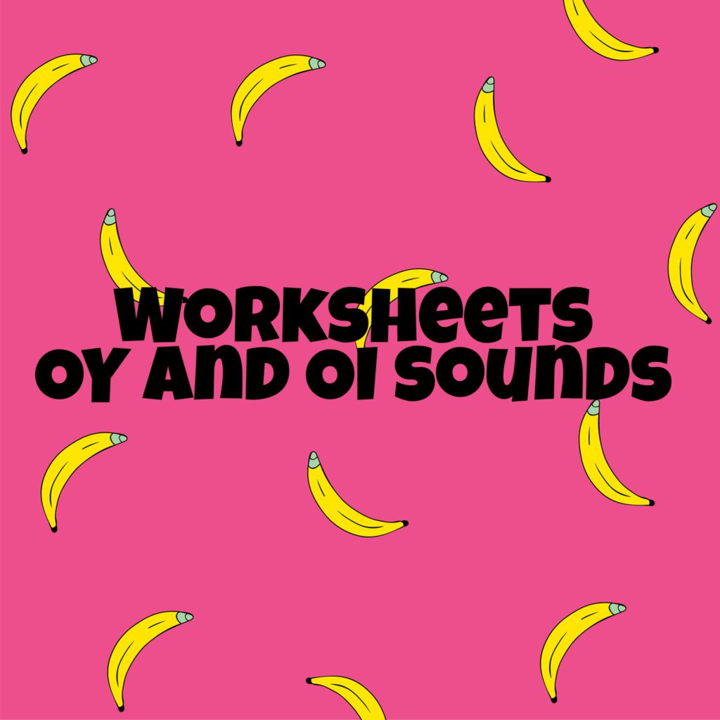 Worksheet Oy And Oi Sounds