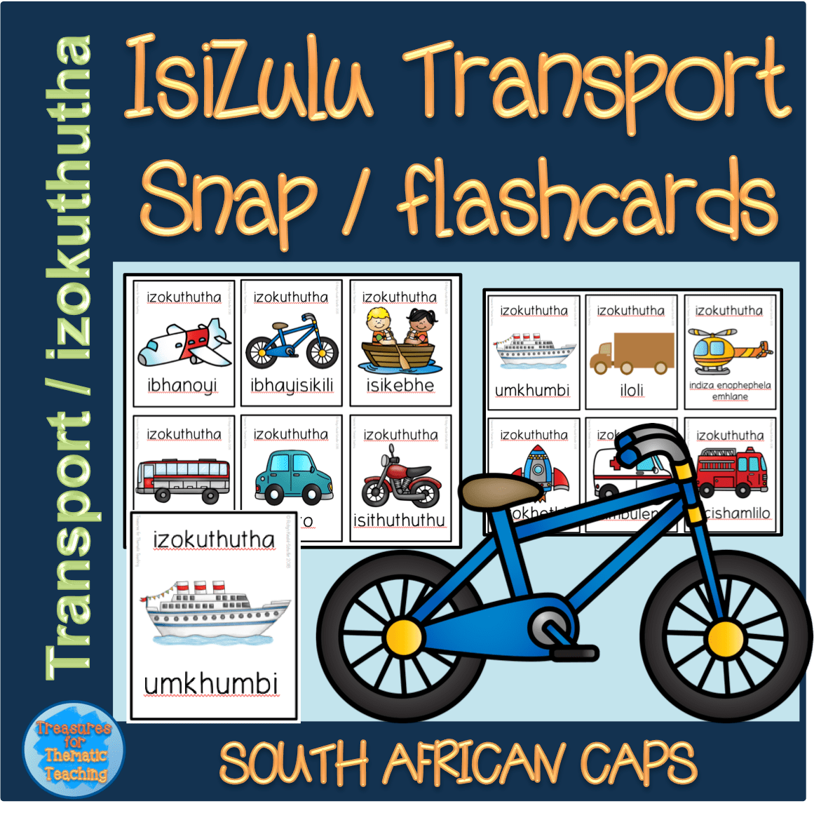 Isizulu Transport Izokuthutha Snap Flashcards Teacha