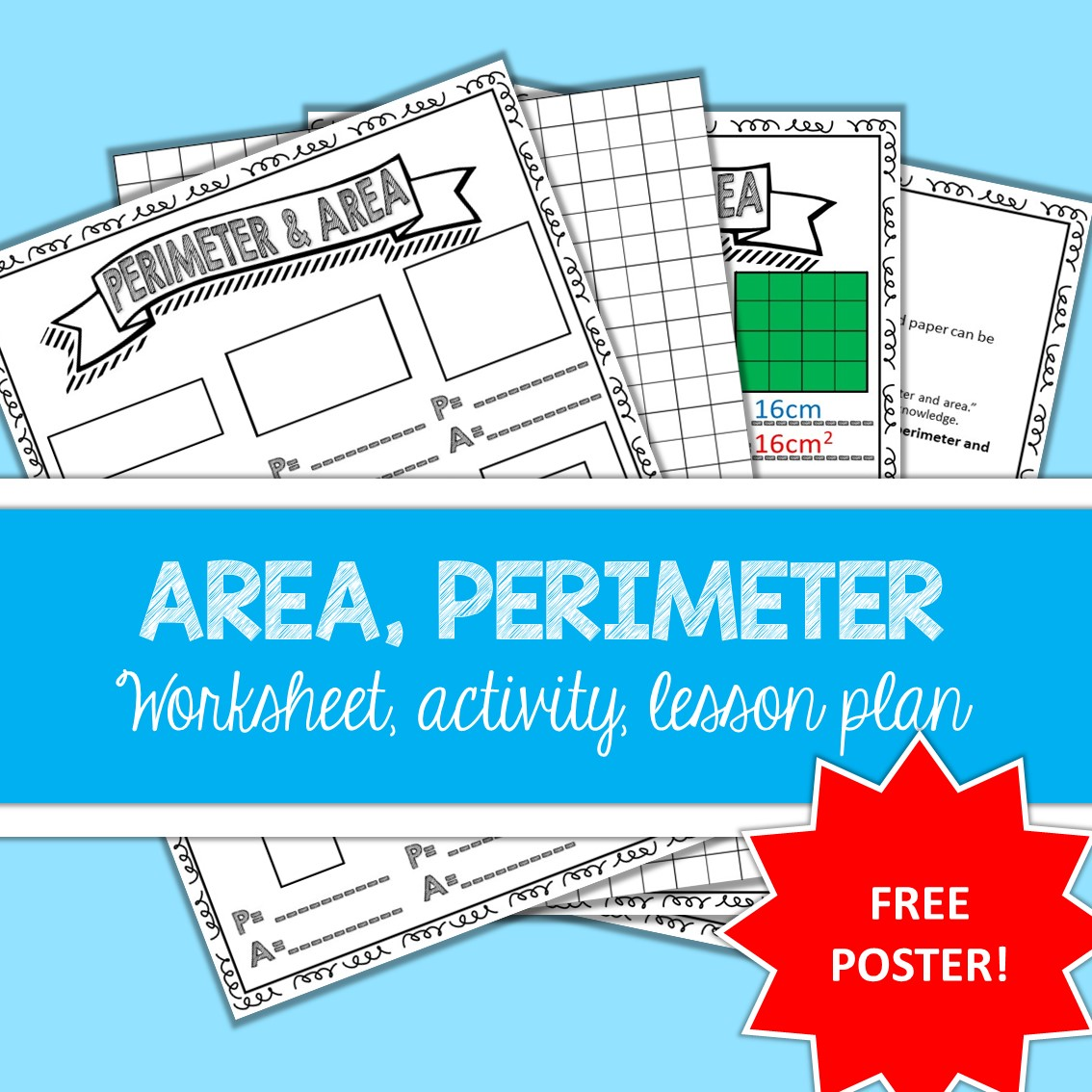 Area Perimeter Worksheet Activity Teacha