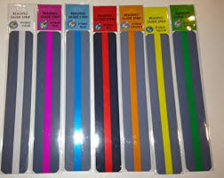 Color overlay strips